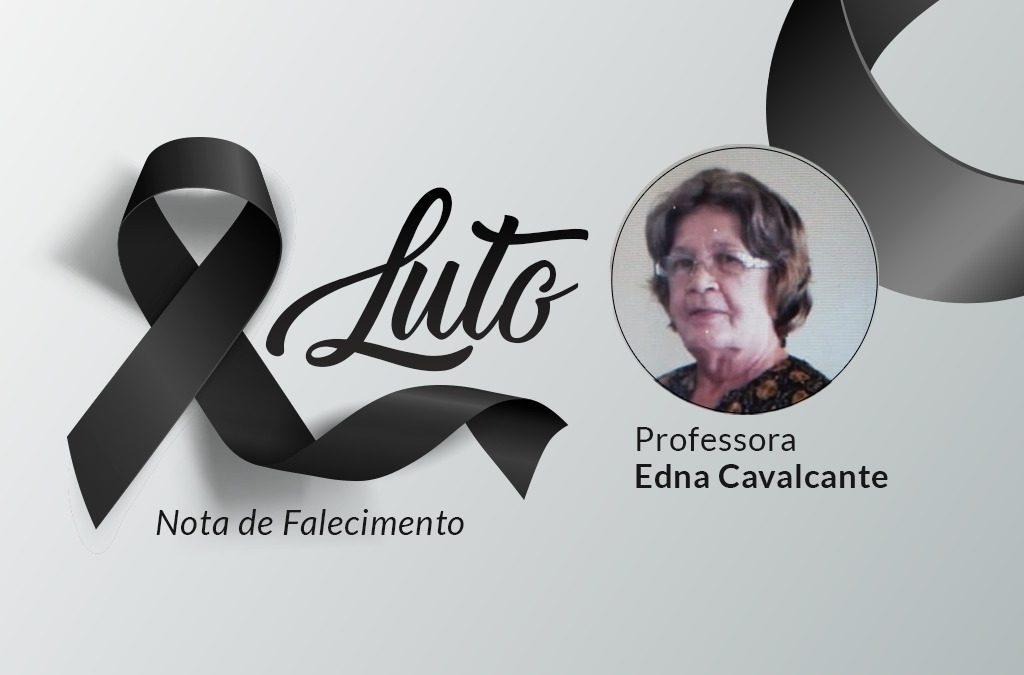 Nota de pesar – Prof. Edna Cavalcante
