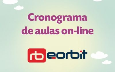 Cronograma de aulas on-line e-orbit